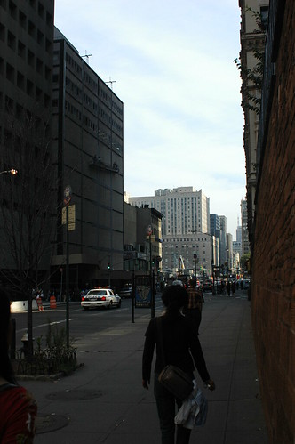 Church Street, looking North toward Ground Zero