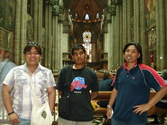 Dalam Milan Cathedral, Milan, Italy
