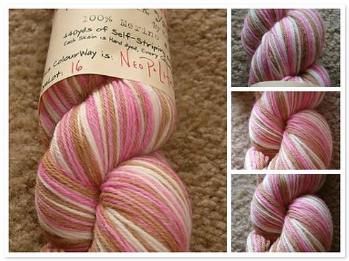 Vesper Neopolitan Sock Yarn