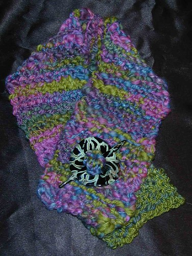 Short Scarf - Made from Pixie's Handspun Yarn