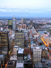High Above Melbourne