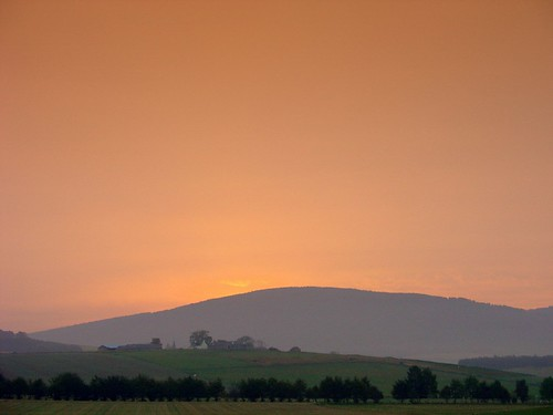 Sunrise at Tarland