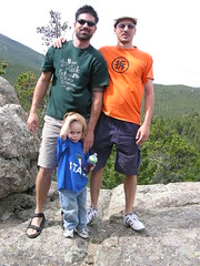 Coal Creek, Colorado - Todd, Me & Mattux