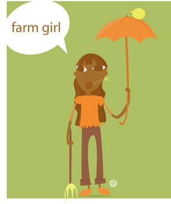 illustration friday - farm