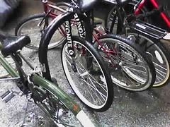one wheel left