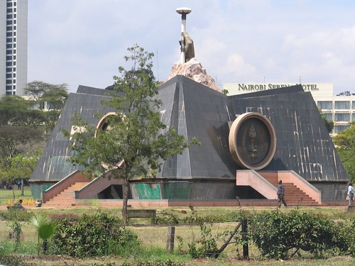 Uhuru monument in Nairobi