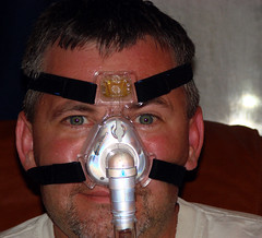 Sleep apnea nose mask