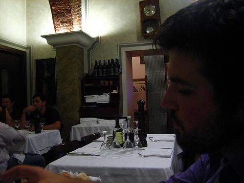 Husbear at Trattoria Milanese