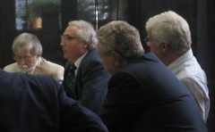 Robert Scheer, Manuel Castells, Geoffrey Cowan, George Soros
