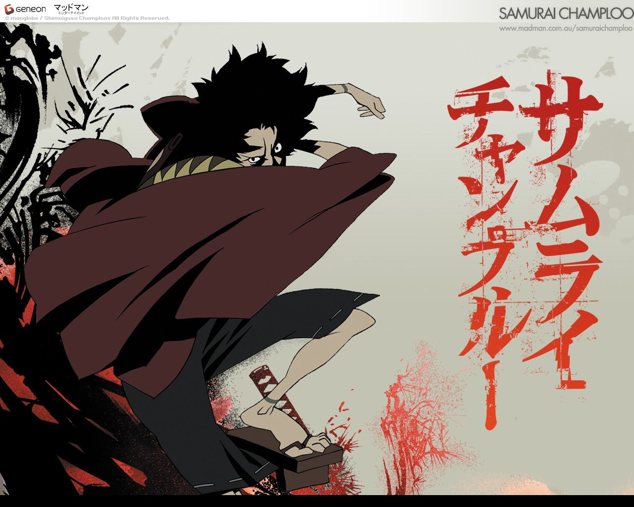 Samurai Champloo Llega A Cartoon Networkwallpapers