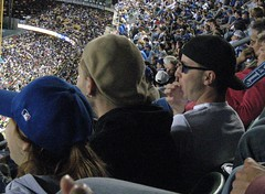 This is Sunglasses At Night and Kangol Hat guy and they were both really upset with me.