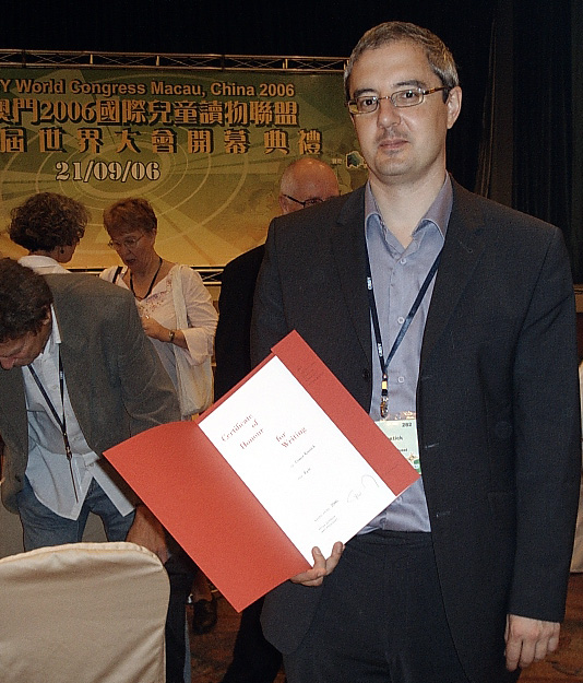 Conor Kostick at the IBBY 2006 Conference