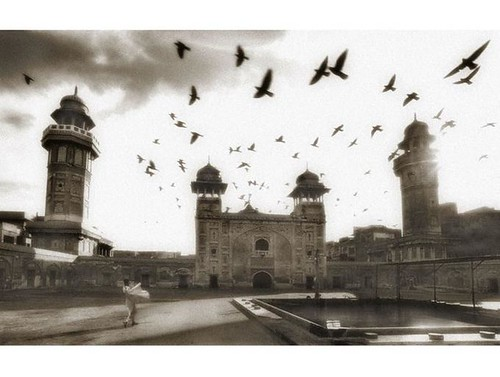 Morning In Wazir Khan Mosque by Umair Ghani