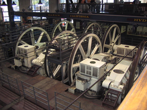 The GE Motors for the San Francisco Cable Cars