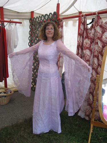 Stephanie's wedding dress
