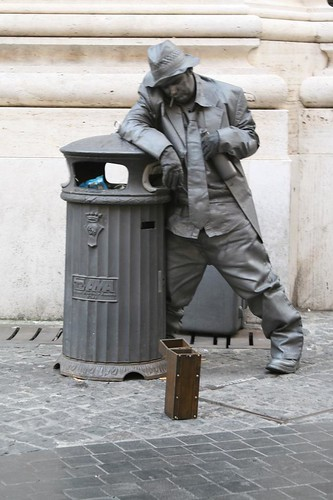 Street Performer, Roma