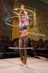 The Hula-Hoop Lady