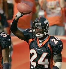 champ bailey broncos