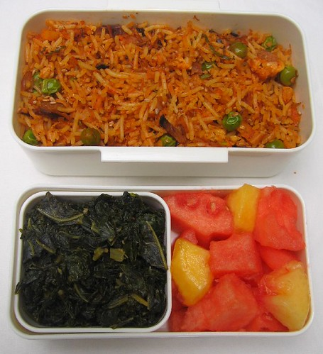 Fusion fried rice lunch お弁当