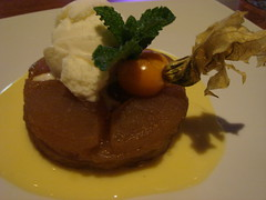 Tarte Tatin with Lemon Sour Ice-Cream