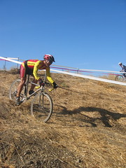 Hey that's me, at the 2006 Pilarcitos Hellyer Cyclocross race