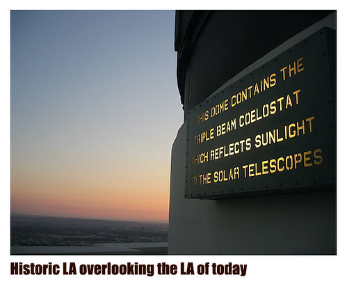 Griffith Observatory - telescope