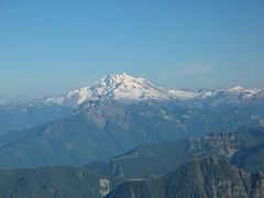 Glacier Peak from 3 Fingers