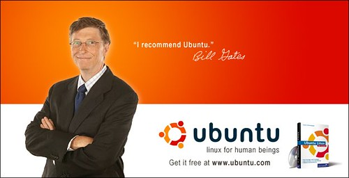 Bill Gates poleca Ubuntu