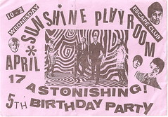 sunshine playroom 5th birthday party