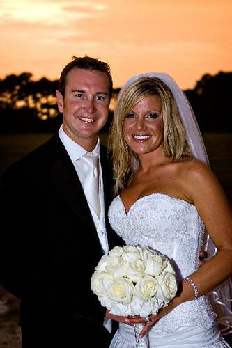 Mr. and Mrs. Kurt Busch