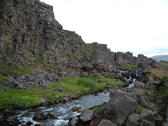 The edge of the North American tectonic plate