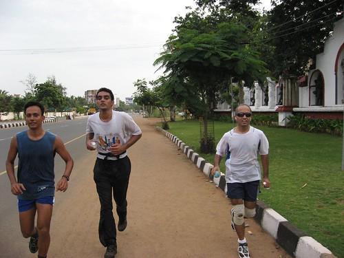 Ajendra, Srinivas & Ram near VGP