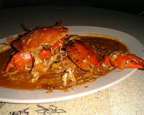 Asia Cafe's Sweet and Sour Breaded Crab