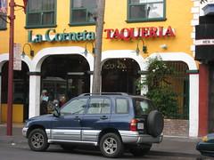 La Corneta Outside