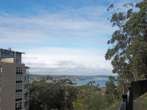 Peeks Point & Brisbane Water from John Whiteway Drive Gosford