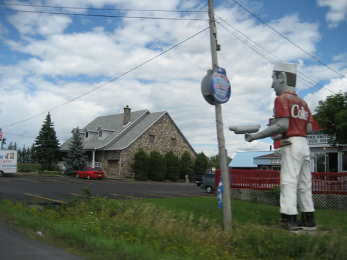 to Montreal: big Coke guy