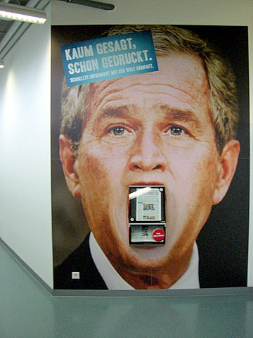 Bush President Ad Welt Kompakt