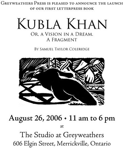 Kubla Kahn Launch