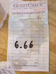 2 peices of cherry pie devilishly priced