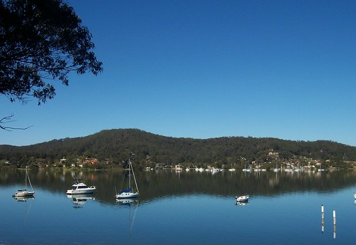 Ironbark Point from Wharf Street East Gosford