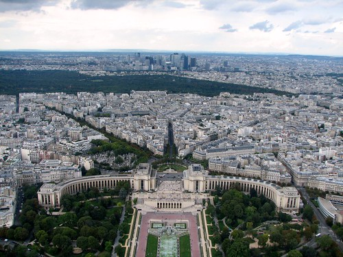 Trocadero (Looking North West from the tower)