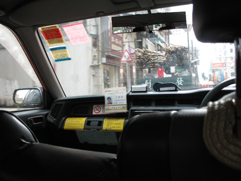 the HK taxi man told me he come from china