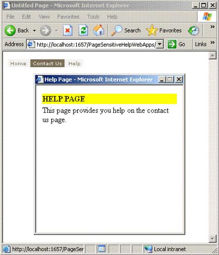 PageSensitiveHelp2