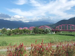 Bridge across Chikumagawa