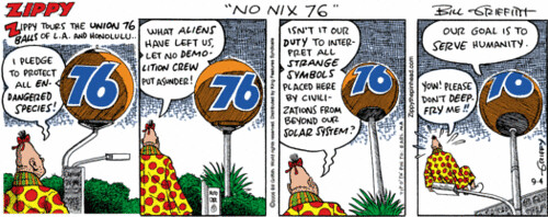 Zippy The Pinhead sez No Nix 76
