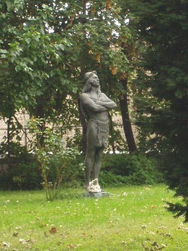 Steinway Mansion Indian Statue