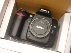 Unpacking the Nikon D80