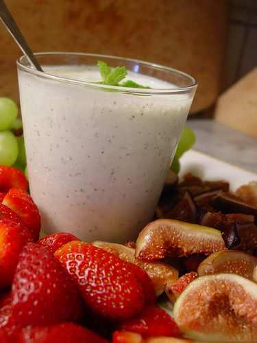 Minted Yogurt with Fruit (1)