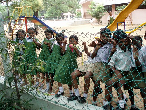 Children in an indian school