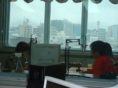FM福井のスタジオ
